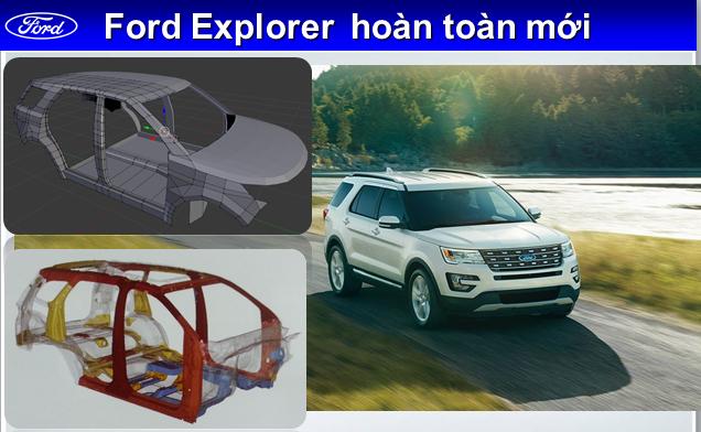 khung xe explorer